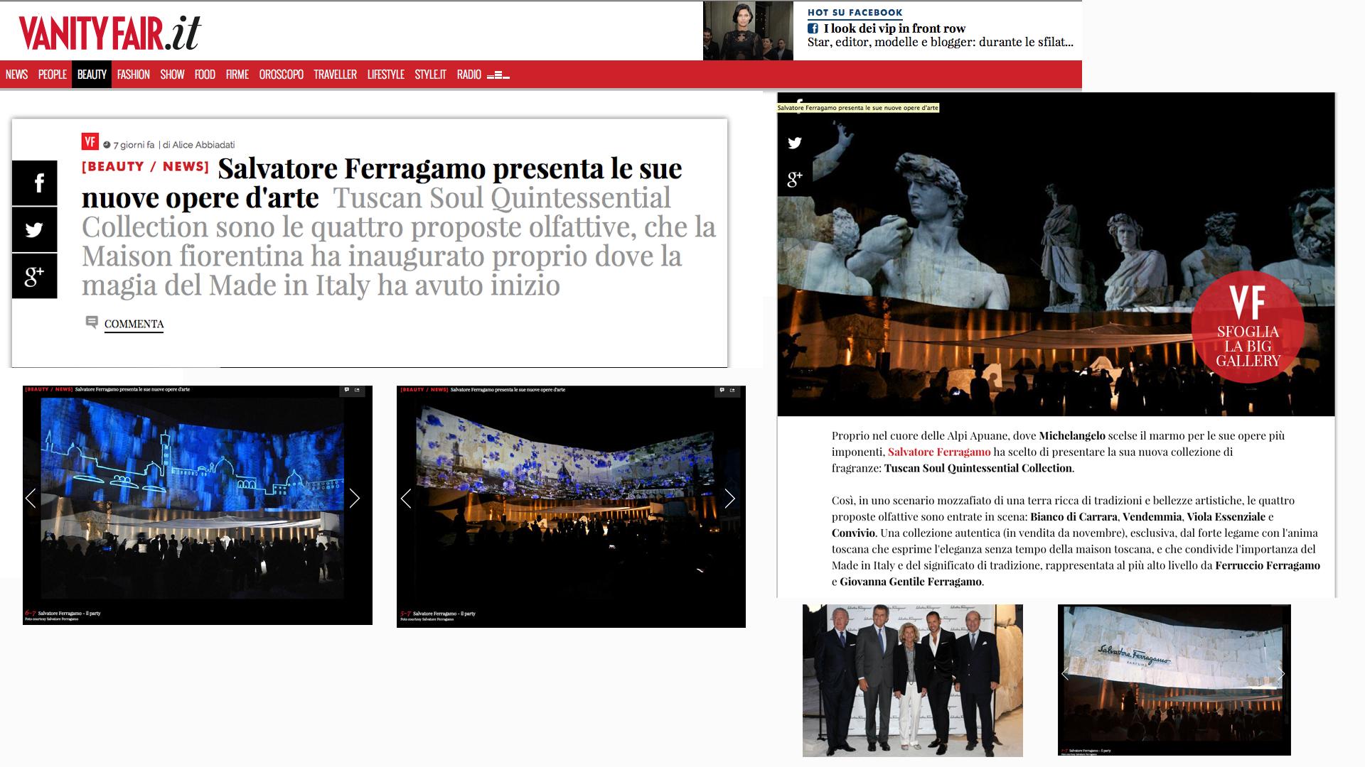 FERRAGAMO TUSCAN SOUL BIANCO DI CARRARA #18