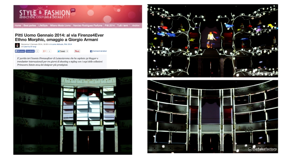 FIRENZE4EVER 3D VIDEOMAPPING 12