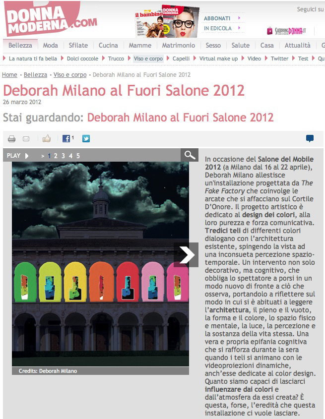 STEFANO FAKE + DEBORAH MILANO