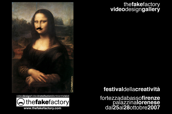 THE FAKE FACTORY VIDEODESIGN NEW MEDIA ART 130