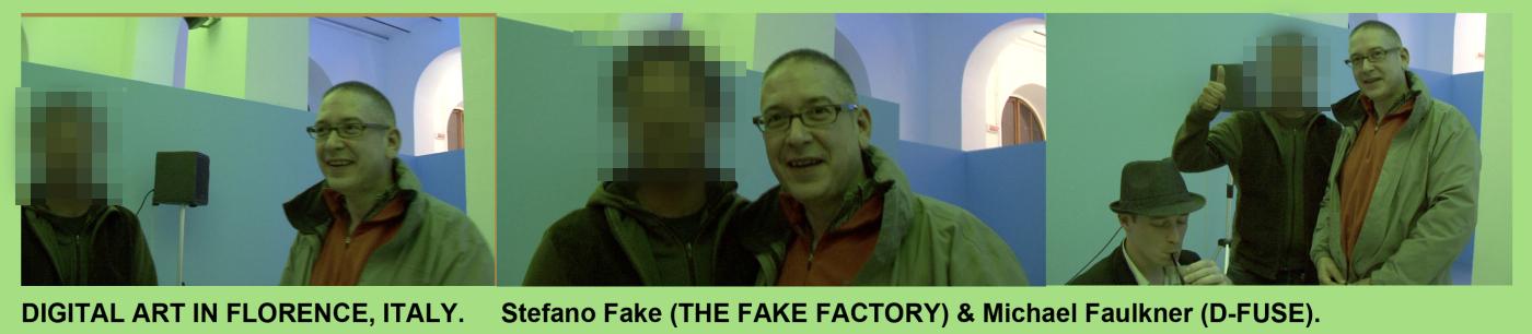 THE FAKE FACTORY VIDEODESIGN NEW MEDIA ART #STEFANOFAKE 2