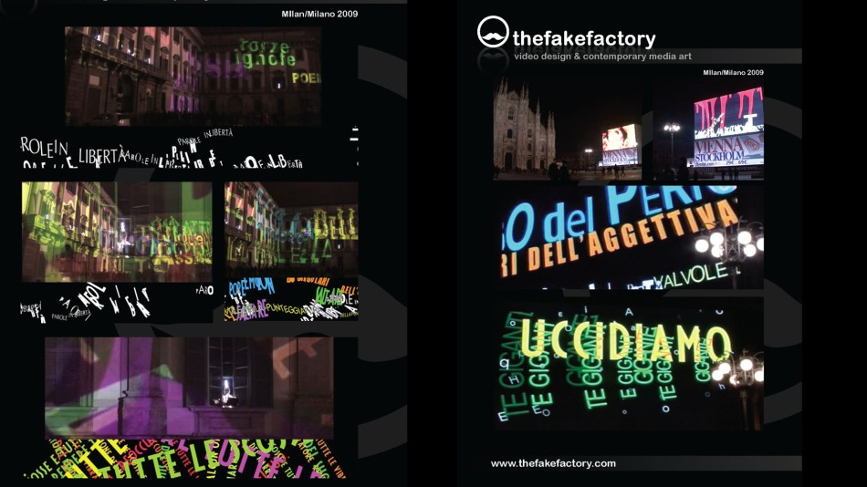 THE FAKE FACTORY #videoDESIGN 109