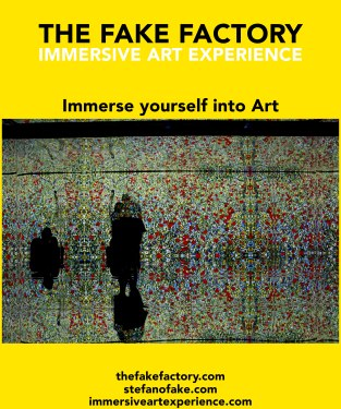 IMMERSIVE ART EXPERIENCE IMMERSIVE ART THE FAKE FACTORY 115