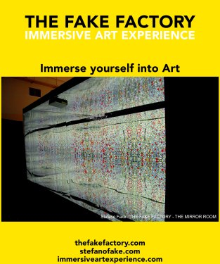 IMMERSIVE ART EXPERIENCE IMMERSIVE ART THE FAKE FACTORY 118