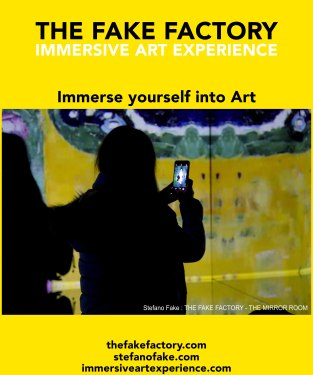 IMMERSIVE ART EXPERIENCE IMMERSIVE ART THE FAKE FACTORY 119