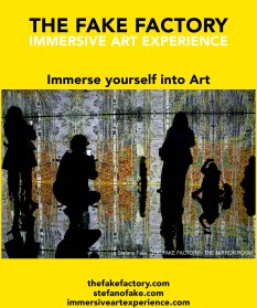 IMMERSIVE ART EXPERIENCE IMMERSIVE ART THE FAKE FACTORY 121
