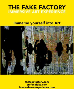 IMMERSIVE ART EXPERIENCE IMMERSIVE ART THE FAKE FACTORY 26