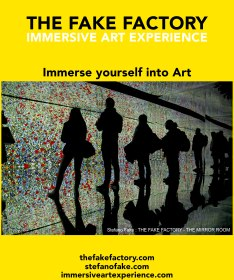 IMMERSIVE ART EXPERIENCE IMMERSIVE ART THE FAKE FACTORY 29