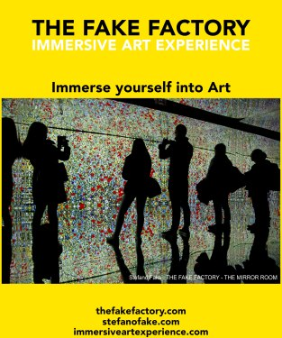 IMMERSIVE ART EXPERIENCE IMMERSIVE ART THE FAKE FACTORY 30