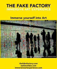 IMMERSIVE ART EXPERIENCE IMMERSIVE ART THE FAKE FACTORY 42