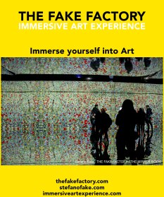 IMMERSIVE ART EXPERIENCE IMMERSIVE ART THE FAKE FACTORY 48