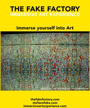 IMMERSIVE ART EXPERIENCE IMMERSIVE ART THE FAKE FACTORY 55