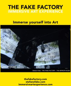 IMMERSIVE ART EXPERIENCE IMMERSIVE ART THE FAKE FACTORY 64