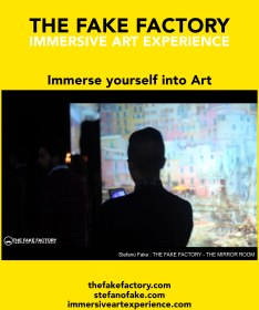 IMMERSIVE ART EXPERIENCE IMMERSIVE ART THE FAKE FACTORY 71