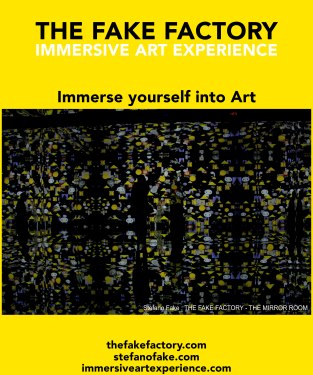 IMMERSIVE ART EXPERIENCE IMMERSIVE ART THE FAKE FACTORY 80