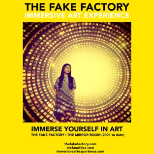 THE FAKE FACTORY - THE MIRROR ROOM IMMERSIVE ART_