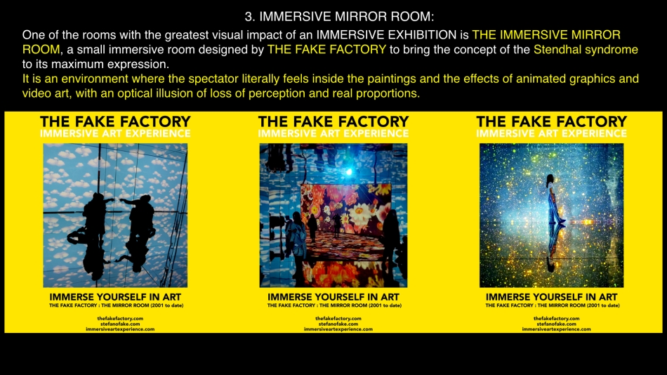 THE FAKE FACTORY IMMERSIVE ART EXPERIENCE 2012-2020 FORMAT.113