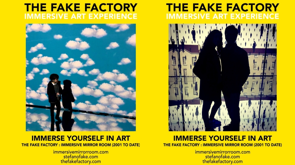 THE FAKE FACTORY IMMERSIVE ART EXPERIENCE 2012-2020 FORMAT.140