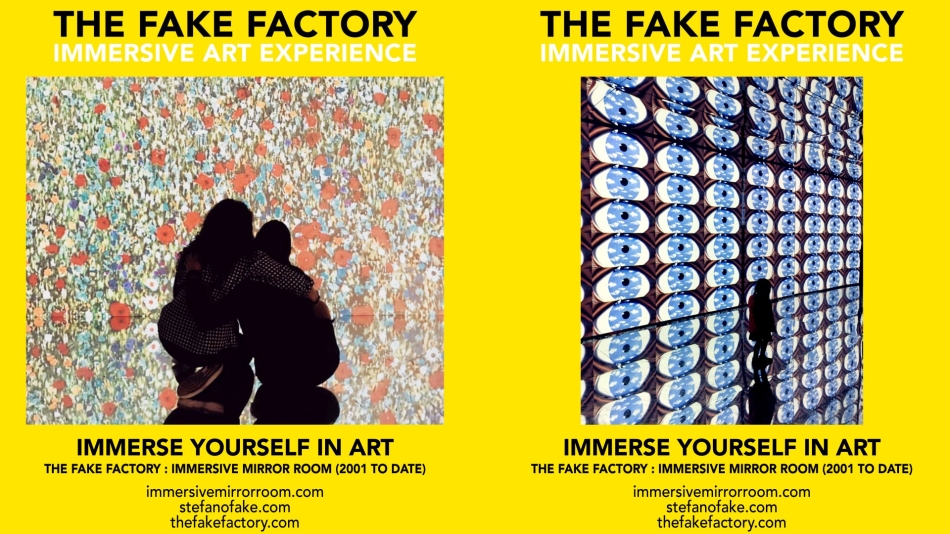 THE FAKE FACTORY IMMERSIVE ART EXPERIENCE 2012-2020 FORMAT.143