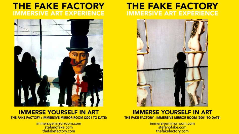 THE FAKE FACTORY IMMERSIVE ART EXPERIENCE 2012-2020 FORMAT.145
