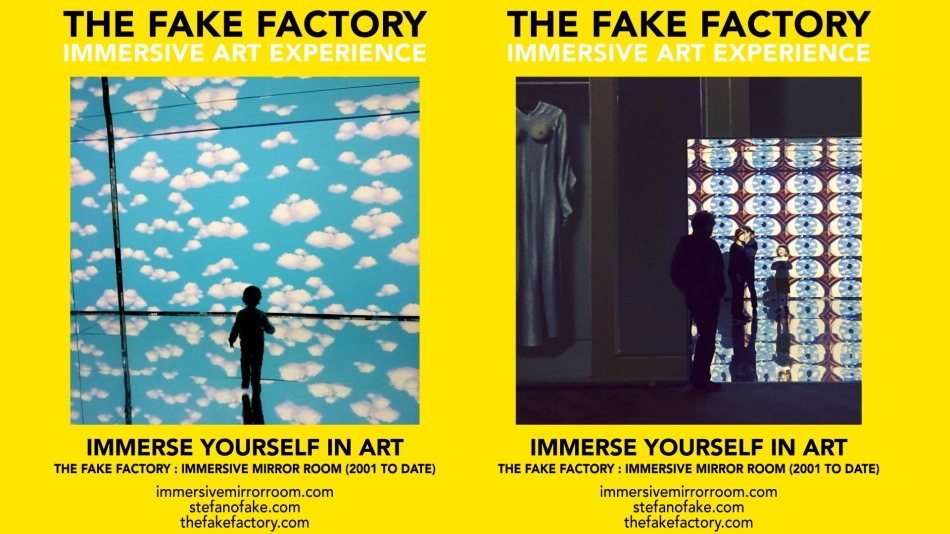 THE FAKE FACTORY IMMERSIVE ART EXPERIENCE 2012-2020 FORMAT.146