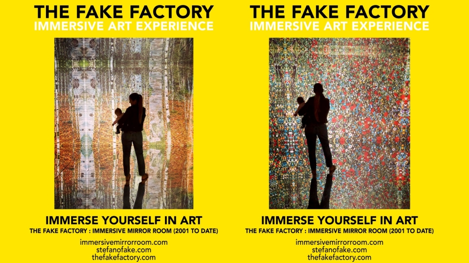 THE FAKE FACTORY IMMERSIVE ART EXPERIENCE 2012-2020 FORMAT.149
