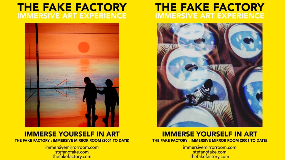THE FAKE FACTORY IMMERSIVE ART EXPERIENCE 2012-2020 FORMAT.150