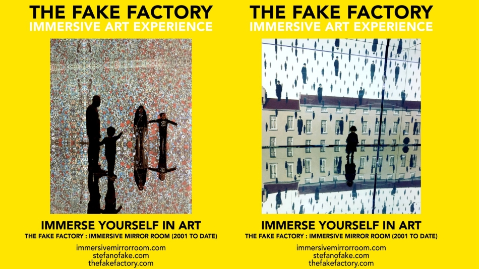 THE FAKE FACTORY IMMERSIVE ART EXPERIENCE 2012-2020 FORMAT.151