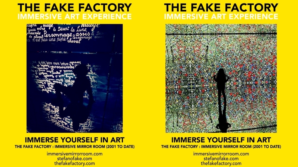 THE FAKE FACTORY IMMERSIVE ART EXPERIENCE 2012-2020 FORMAT.154